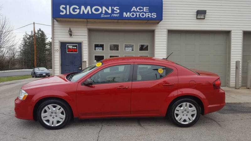 2014 Dodge Avenger for sale in Richmond, IN