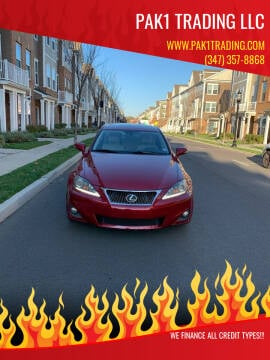 2012 Lexus IS 250 for sale at Pak1 Trading LLC in South Hackensack NJ