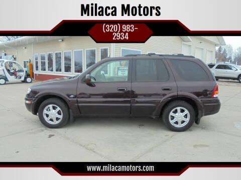 2004 Oldsmobile Bravada for sale at Milaca Motors in Milaca MN
