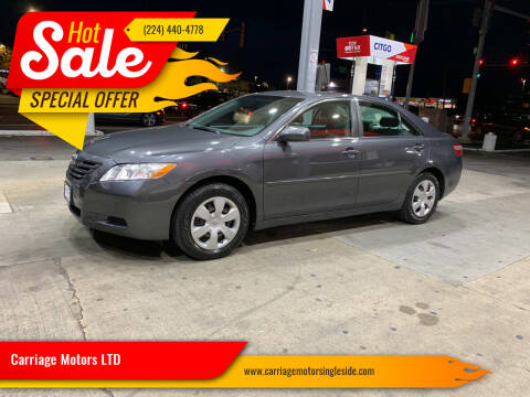 2009 Toyota Camry for sale at Carriage Motors LTD in Ingleside IL
