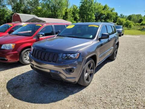 2014 Jeep Grand Cherokee for sale at Clare Auto Sales, Inc. in Clare MI