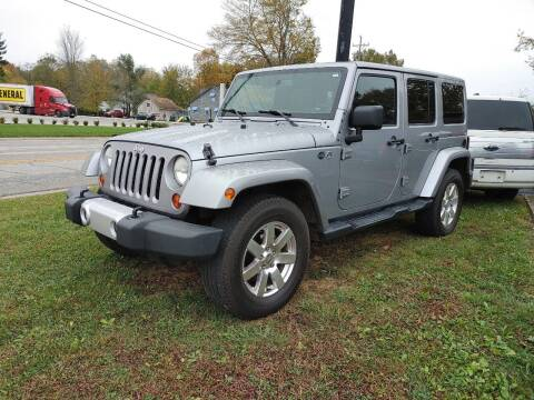 2013 Jeep Wrangler Unlimited for sale at Cruisin' Auto Sales in Madison IN