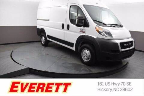 2020 RAM ProMaster Cargo for sale at Everett Chevrolet Buick GMC in Hickory NC