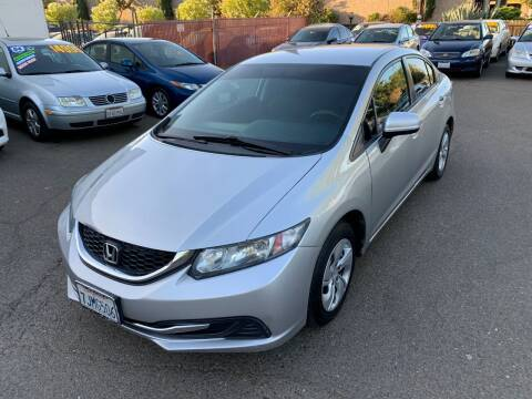 2015 Honda Civic for sale at C. H. Auto Sales in Citrus Heights CA