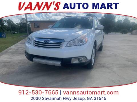 2012 Subaru Outback for sale at VANN'S AUTO MART in Jesup GA