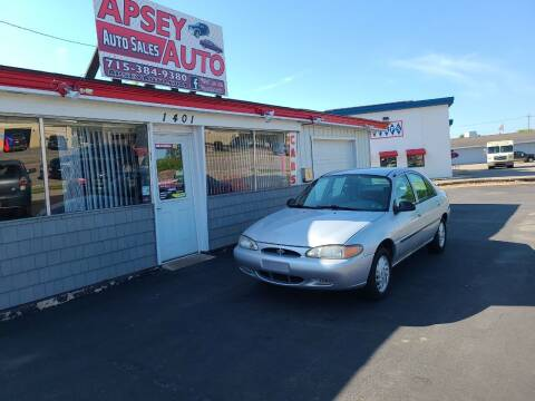 1999 Ford Escort for sale at Apsey Auto in Marshfield WI