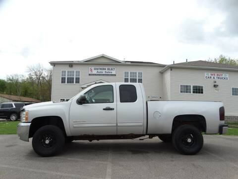 2010 Chevrolet Silverado 2500HD for sale at SOUTHERN SELECT AUTO SALES in Medina OH