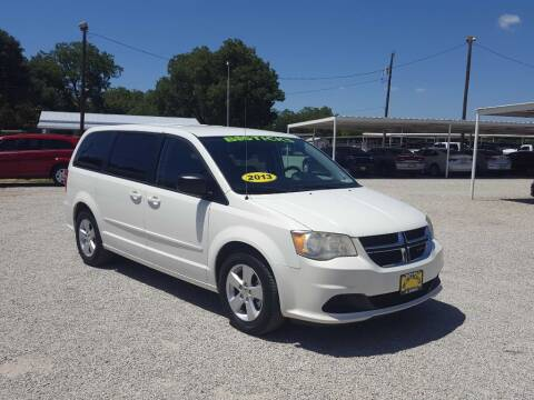 2013 Dodge Grand Caravan for sale at Bostick's Auto & Truck Sales in Brownwood TX