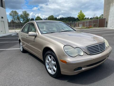 2002 Mercedes-Benz C-Class for sale at Washington Auto Sales in Tacoma WA