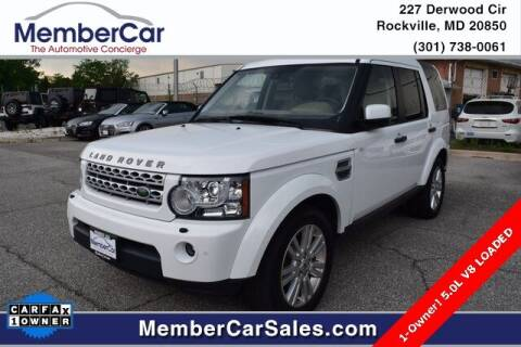 2012 Land Rover LR4 for sale at MemberCar in Rockville MD