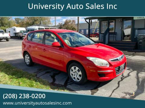 2010 Hyundai Elantra Touring for sale at University Auto Sales Inc in Pocatello ID