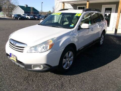 2010 Subaru Outback for sale at Lakes Region Auto Source LLC in New Durham NH