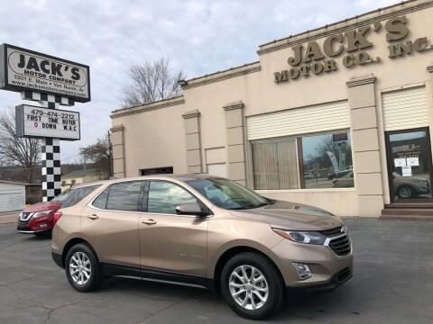 2018 Chevrolet Equinox for sale at JACK'S MOTOR COMPANY in Van Buren AR