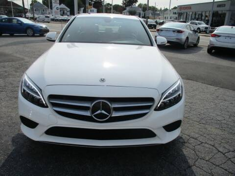 2019 Mercedes-Benz C-Class for sale at AUTO FACTORY INC in East Providence RI