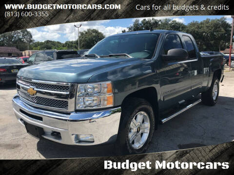 2012 Chevrolet Silverado 1500 for sale at Budget Motorcars in Tampa FL