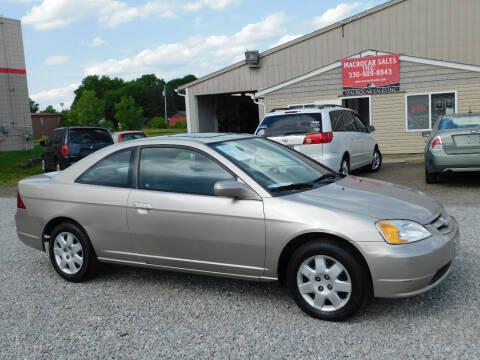 2002 Honda Civic for sale at Macrocar Sales Inc in Akron OH