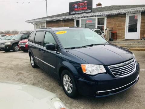 2012 Chrysler Town and Country for sale at I57 Group Auto Sales in Country Club Hills IL
