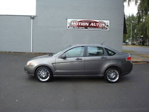 2009 Ford Focus for sale at Motion Autos in Longview WA
