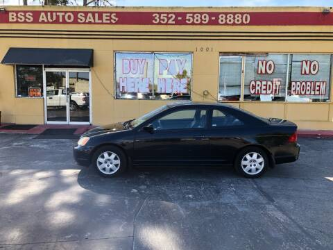 2002 Honda Civic for sale at BSS AUTO SALES INC in Eustis FL