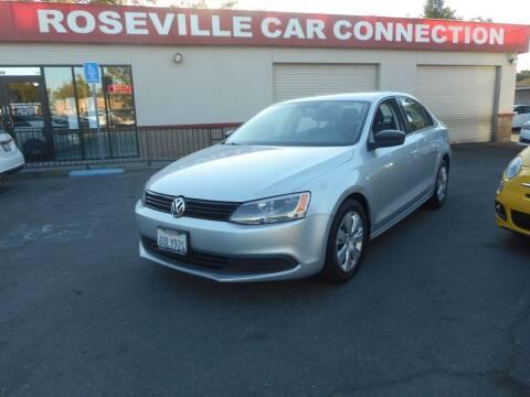 2012 Volkswagen Jetta for sale at ROSEVILLE CAR CONNECTION in Roseville CA