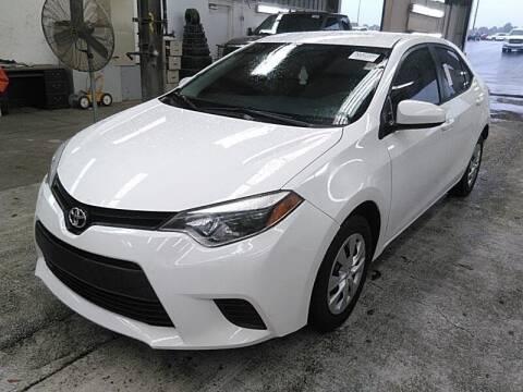 2014 Toyota Corolla for sale at FLORIDA CAR TRADE LLC in Davie FL