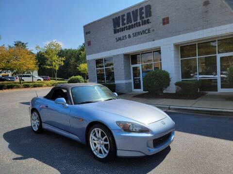 2005 Honda S2000 for sale at Weaver Motorsports Inc in Cary NC