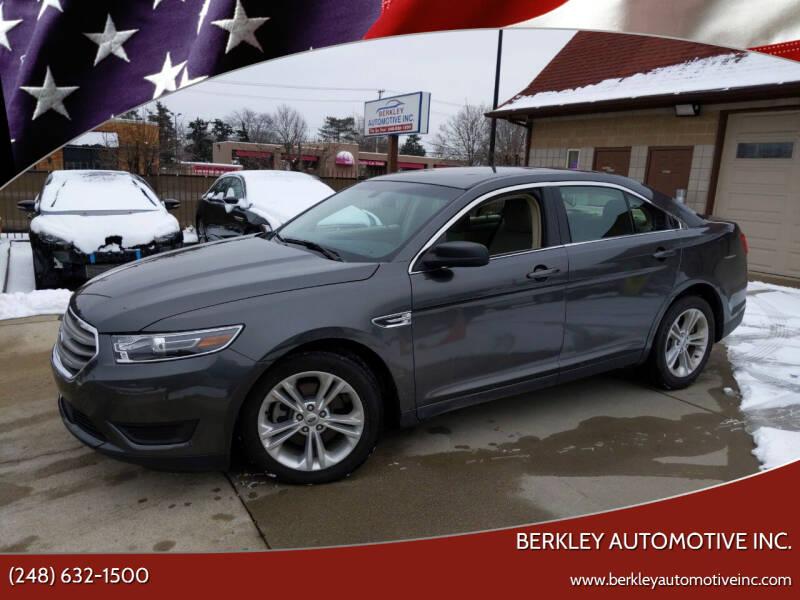 2017 Ford Taurus for sale at Berkley Automotive Inc. in Berkley MI