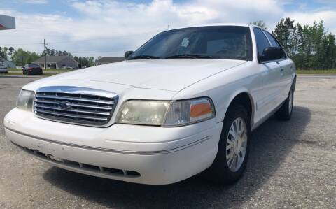 2003 Ford Crown Victoria for sale at County Line Car Sales Inc. in Delco NC