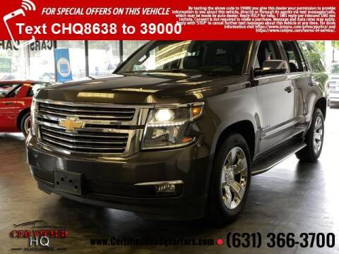 2015 Chevrolet Tahoe for sale at CERTIFIED HEADQUARTERS in Saint James NY