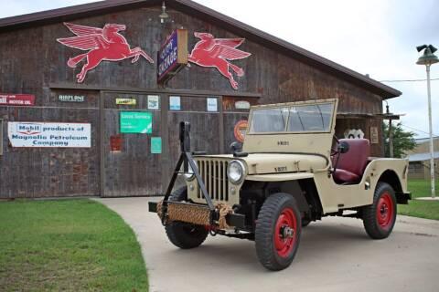 1947 Willys CJ-2A for sale at Village Motors Of Salado in Salado TX