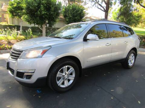2014 Chevrolet Traverse for sale at E MOTORCARS in Fullerton CA