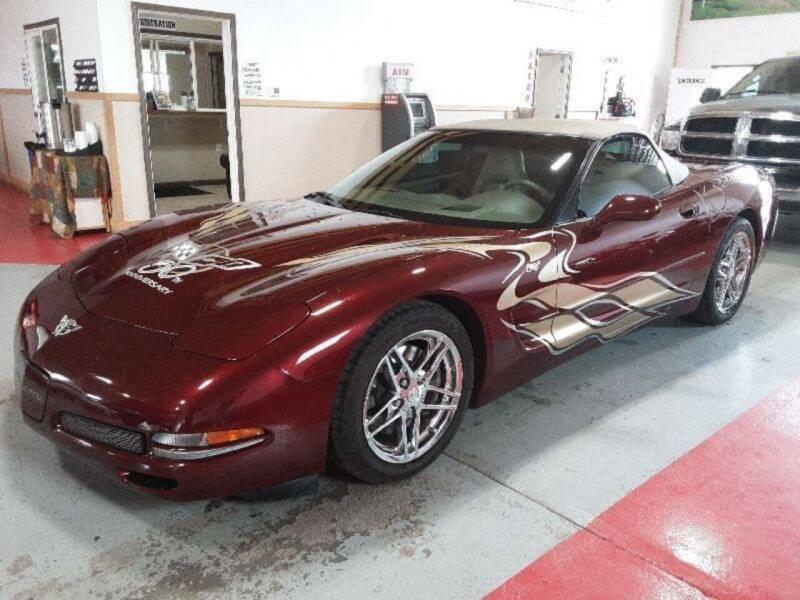 2003 Chevrolet Corvette for sale at AUTO BROKER CENTER in Lolo MT