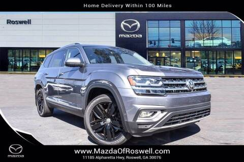 2019 Volkswagen Atlas for sale at Mazda Of Roswell in Roswell GA