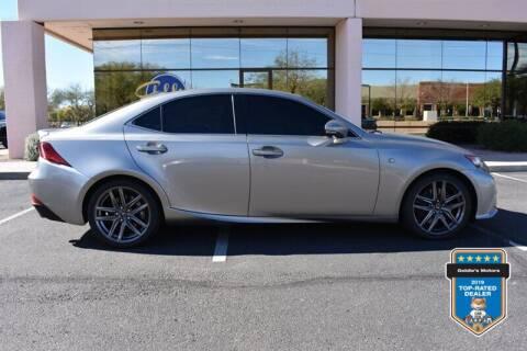 2016 Lexus IS 200t for sale at GOLDIES MOTORS in Phoenix AZ