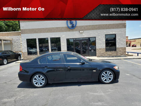2008 BMW 3 Series for sale at Wilborn Motor Co in Fort Worth TX