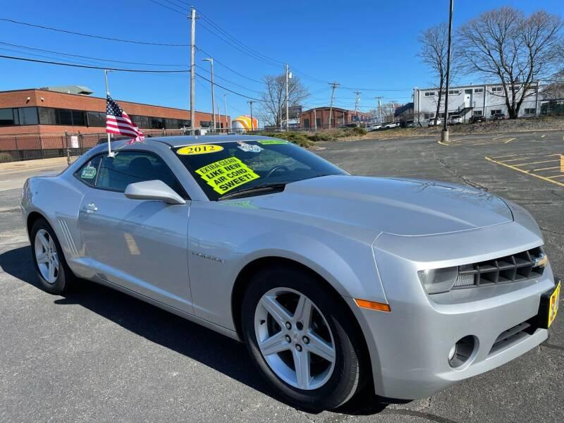 2012 Chevrolet Camaro for sale at Fields Corner Auto Sales in Dorchester MA