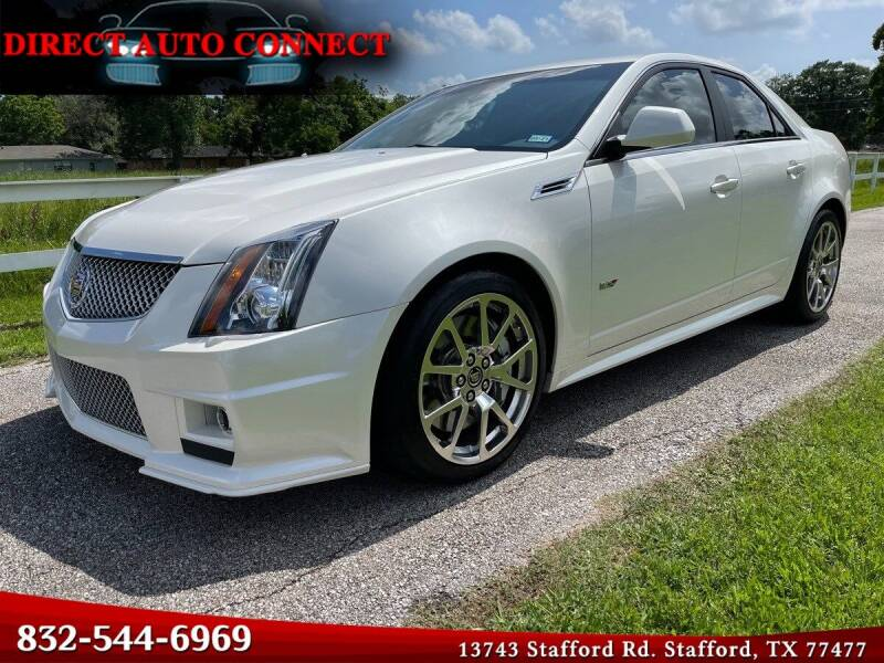 2011 Cadillac CTS-V for sale in Stafford, TX