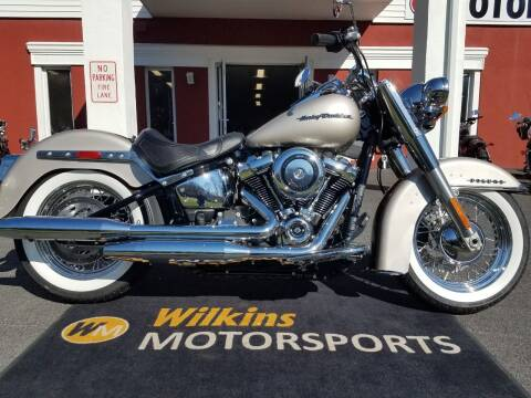 2018 Harley-Davidson Softail Deluxe for sale at WILKINS MOTORSPORTS in Brewster NY
