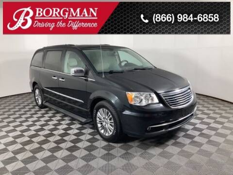 2016 Chrysler Town and Country for sale at BORGMAN OF HOLLAND LLC in Holland MI