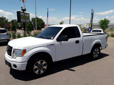 2014 Ford F-150 for sale at More-Skinny Used Cars in Pueblo CO