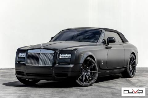 2013 Rolls-Royce Phantom Drophead Coupe for sale at Nuvo Trade in Newport Beach CA