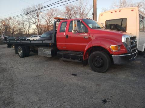 2007 Ford F-650 for sale at SPECIALTY VEHICLE SALES INC in Skokie IL