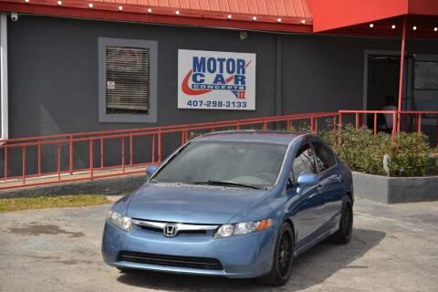 2006 Honda Civic for sale at Motor Car Concepts II - Apopka Location in Apopka FL