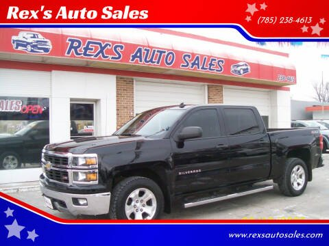 2014 Chevrolet Silverado 1500 for sale at Rex's Auto Sales in Junction City KS