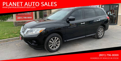 2014 Nissan Pathfinder for sale at PLANET AUTO SALES in Lindon UT