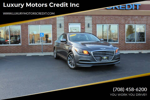 2015 Hyundai Genesis for sale at Luxury Motors Credit Inc in Bridgeview IL