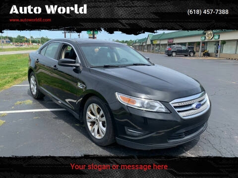 2012 Ford Taurus for sale at Auto World in Carbondale IL