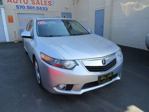 2012 Acura TSX for sale at Small Town Auto Sales in Hazleton PA