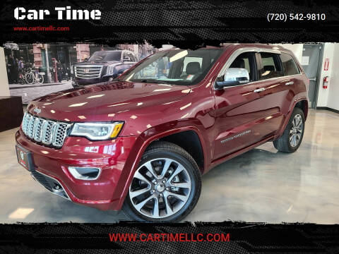 2017 Jeep Grand Cherokee for sale at Car Time in Denver CO