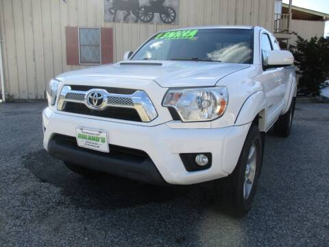 2013 Toyota Tacoma for sale at Roland's Motor Sales in Alfred ME